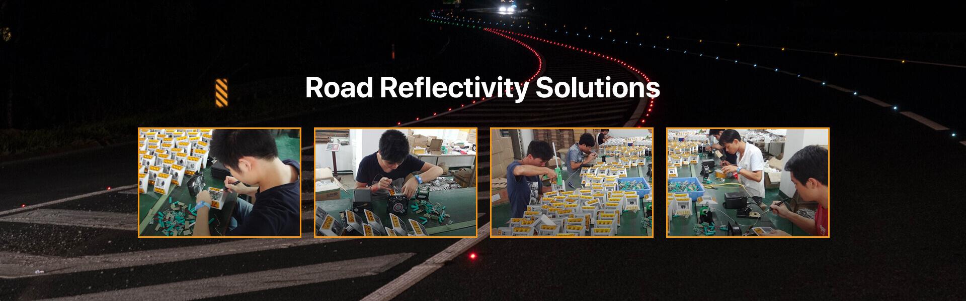 solar road stud factory