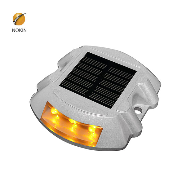 Double Sides Cast Aluminum SolarRoadStud Light NK-RS-A1