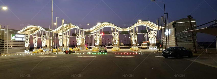 Solar Road Stud Lighs Were In Saudi Arabia-1