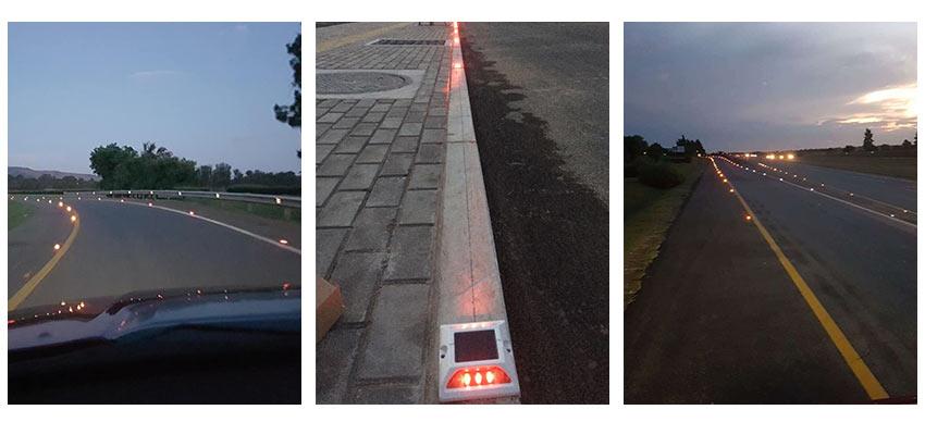 Solar Road Stud Light