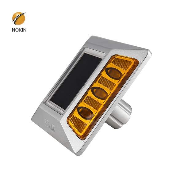 Aluminum Raised Solar Road Stud Road Marker Flash Type NK-RS-A6