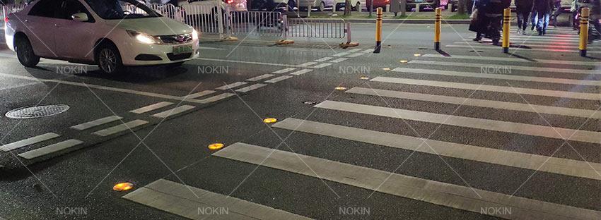nokin-solar-road-stud-in-road-central